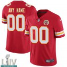 Kansas City Chiefs #00 Custom Name And Number Red Jersey With 2020 Super Bowl LIV Patch