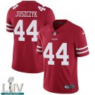 San Francisco 49ers #44 Kyle Juszczyk Red Jersey With 2020 Super Bowl LIV Patch