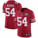 Youth San Francisco 49ers #54 Fred Warner Red Jersey 2020 Super Bowl LIV