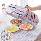 Food Keep Warm Hot Aluminum Foil Cover Covers Dishes Foldable Insulation Kitchen