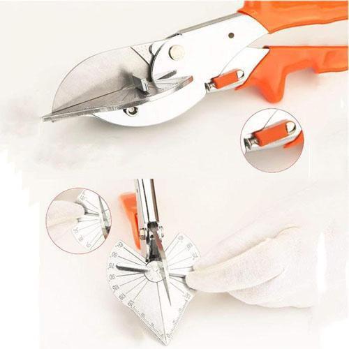 Mitre Shears Multi Angled Steel Trim Cutters PVC Trim Tube Cutting Hand Tool