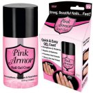 Pink Armor Nail Gel As Seen On TV Polish Remedy Fix Protective Layer Keratin-Gel