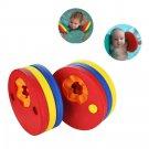QW 2Pcs Baby Kids Float Swim Disc Foam EVA Arm Band Pool Round Children Swimming