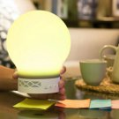 Mini Wireless Bluetooth Speaker Magic Smart Lamp Bulb LED Light Alarm Music GA
