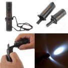 10 in 1 Tool Survival Camping Hiking Emergency Kit Flint Compass LED Flashlight