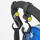 2 PCS/LOT Baby Stroller Accessories Hook Multifunction Baby Stroller Black High