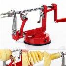 New Stainless Steel 3-in-1 Hand-cranking Apple Peeler Potato Fruit Slicer Peeler