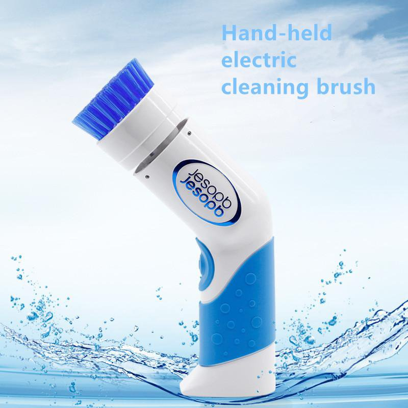 Turbo Scrub 360 Electric Cordless Handheld Cleaning Brush Scrubber for Bathroom