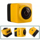 CUBE 360 Degree Video Camera 720P Panoramic VR Build-in WiFi Action Sports DV