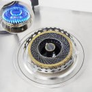 Gas Stove Net Stainless Steel Cooktop Windproof Energy Saver Cover Mesh Kitchen