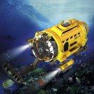 """USA SpyCam Aqua RC Radio Remote Control Toy Submarine with Camera and Light 4.4"""""""""""