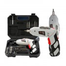 45 in 1 Power Tool Rechargeable 4.8V Cordless Electric Screwdriver Drill Kit Set