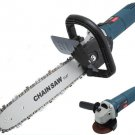 11.5'' Chainsaw Bracket Changed Angle Grinder To Chain Saw Woodworking Tools MWT