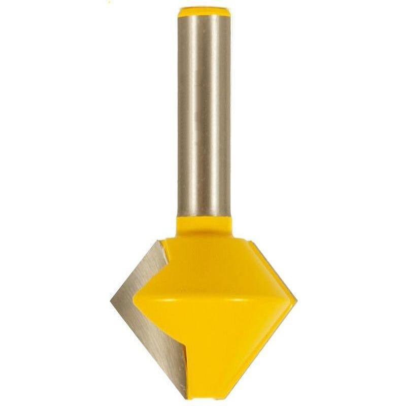 """8 Sided Bird's Mouth Router Bit - 1/2"""""""" Shank - Yonico 15138"""