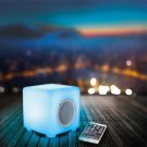 SoundLogic XT Bluetooth Color Changing Wireless CUBE Speaker With Remote Control
