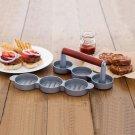 NORPRO 513 Mini Burger Slider Press Crab Cakes Appetizer Press