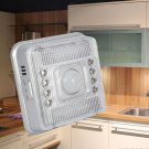 8 LED PIR Wireless Infrared Sensor Motion Detector Wall Night Light Lamp New