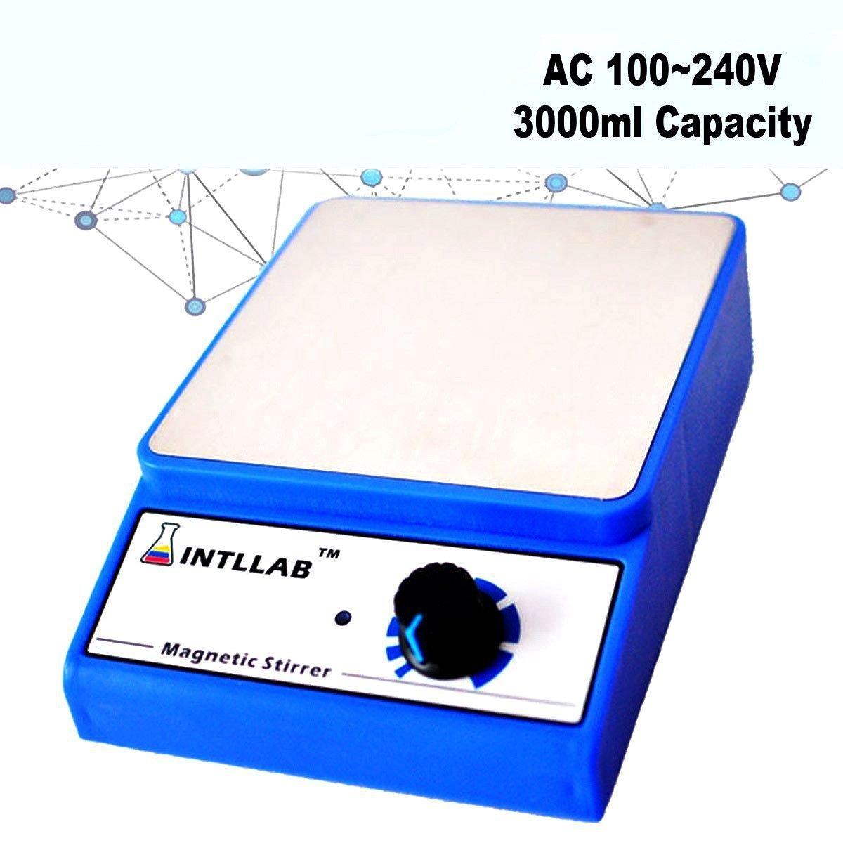 3000ml AC 100-240V Laboratory Tool Magnetic Stirrer Mixer Home 3000rpm UK/AU/EU