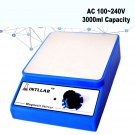 3000ml AC 100-240V Laboratory Tool Magnetic Stirrer Mixer Home 3000rpm UK/AU/EU