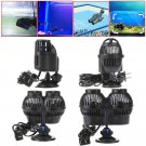 Circulation Pump Wave Maker 1600 GPH Aquarium Reef Powerhead Suction Cup Mount