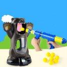 Hungry Bear Target Shooting Game Pump-Shoot Soft Foam Balls Point Tracker Toy