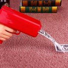New Red Cash Gun Cannon Money Gun Cannon Launcher Bills Included