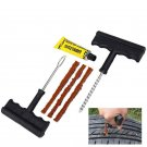 Car Auto Tubeless Tyre Puncture Plug Tire Repair Motorcycle Cement Tool Kit KY