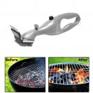 Stainless Steel Grill Steam Cleaning Tool BBQ Brush Cleaner Barbecue Tools