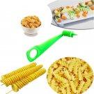 Manual Spiral Screw Slicer Vegetables Potato Cucumber Spiral Knife Kitchen Tools