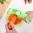 Vegetable Multi-Function Cutter with Peeler and Chopper Kitchenware 2 in 1 cutte