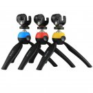 Mini Tripod Mount with 360 Degree Ball Head For GoPro DSLR DV Video Smartphones