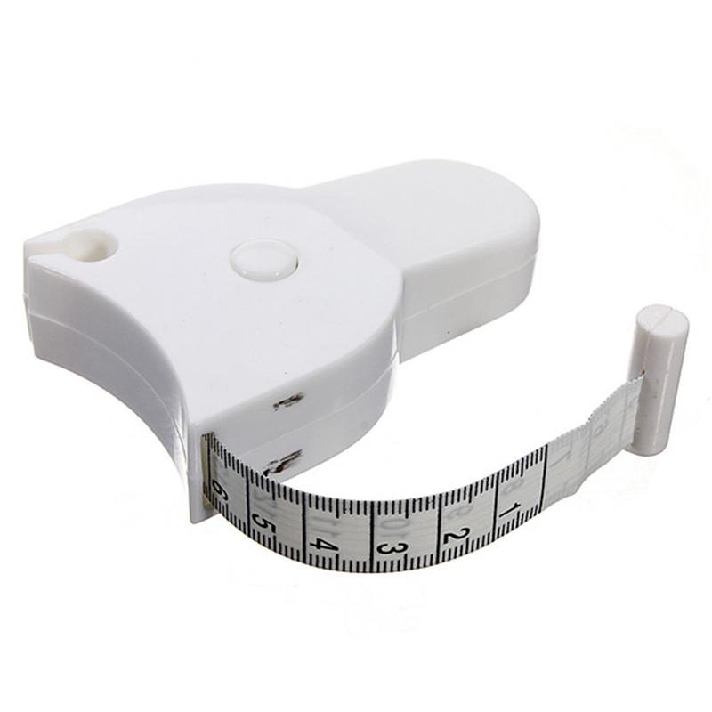 New 150cm Retractable Accurate Caliper Measuring Tape Body Weight Loss Measure