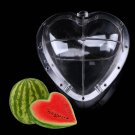 1/2X Garden Fruit Vegetable Star Heart Cucumber Shaping Mold Growth Forming Tool