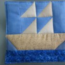 Handmade Sailboat Quilted Hot Pads, Pot Holders, Mug Rugs - Sold in Pairs