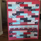 NEW Handmade Pieced Quilt - Nautical Sailboats