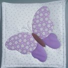 Lavender Butterfly, Use for Mug Rug, Pot Holder or Hot Mat - Handmade - sold single