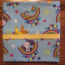 My Little Pony fits Standard or Queen Size Cotton Pillow Case - Blue