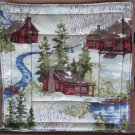Cabin by Stream Pot Holder or Hot Pad