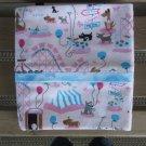 Doggie Park Standard or Queen Size Cotton Pillow Case