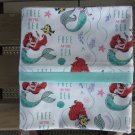 Ariel Mermaid fits Standard or Queen Size Cotton Pillow Case
