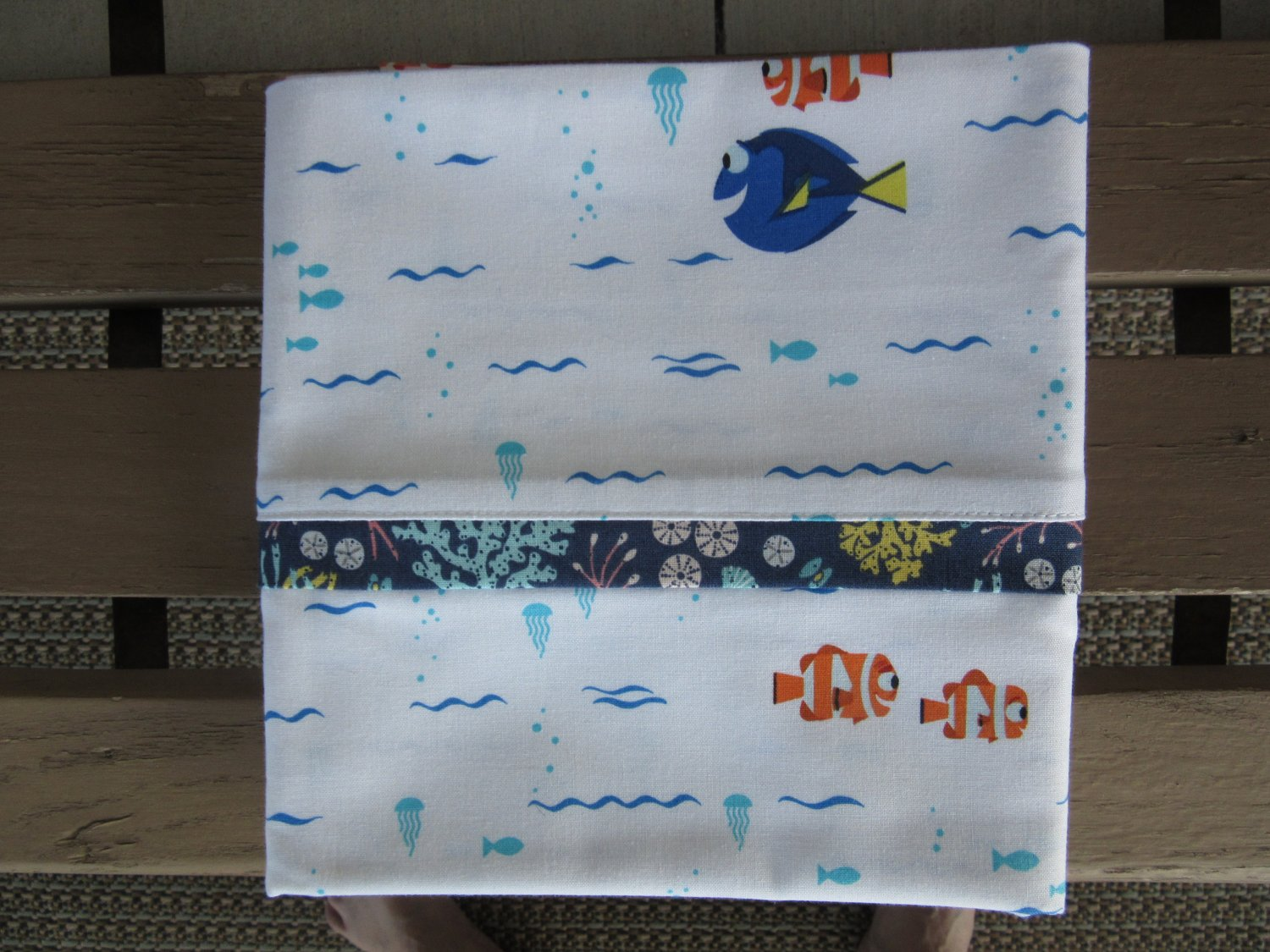 Finding Dory fits Standard or Queen Size Cotton Pillow Case