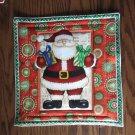 Christmas Santa, Use for Mug Rug, Pot Holder or Casserole Hot Mat
