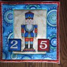 Christmas Nutcracker, Use for Mug Rug, Pot Holder or Casserole Hot Mat