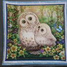 Beige Owl Pair, Use for Mug Rug, Pot Holder or Casserole Hot Mat -Sold as Single