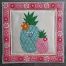 Pineapple Pair, Use for Mug Rug, Pot Holder or Hot Mat - Handmade - sold single