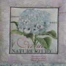 Pot Holder Butterflies & Hydrangeas Reversible Casserole Hot Mat, Hot Pad - Nature Hydrangea
