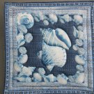 Unique Pot Holder Sea Shells #1 Hot Pad in Large Size for Casserole Table Protector