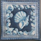 Unique Pot Holder Sea Shells #2 Hot Pad in Large Size for Casserole Table Protector