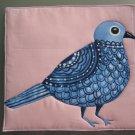 Pot Holder Bluebird Design Casserole Hot Mat, Hot Pad - Handmade Cotton