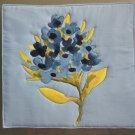 Pot Holder Flower Design Casserole Hot Mat, Hot Pad - Handmade Cotton